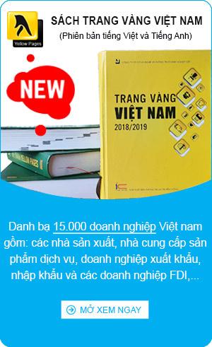 sách niên giám doanh trang vàng danh bạ doanh nghiệp Việt nam